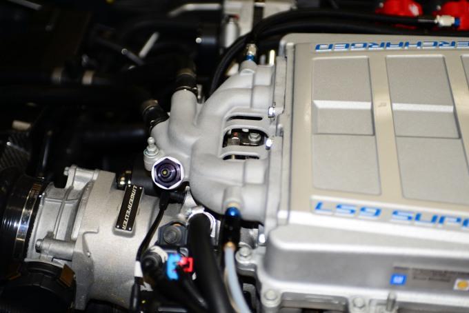 C6 ZR1とC7 Z06のIntercooler Pump作動不良が原因のIntercooler