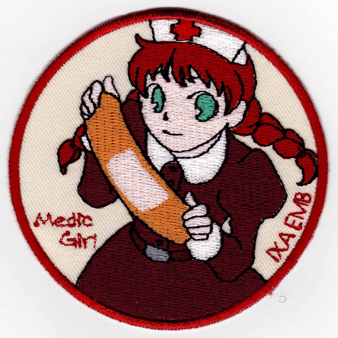 Medic Girl 絆創膏 パッチ