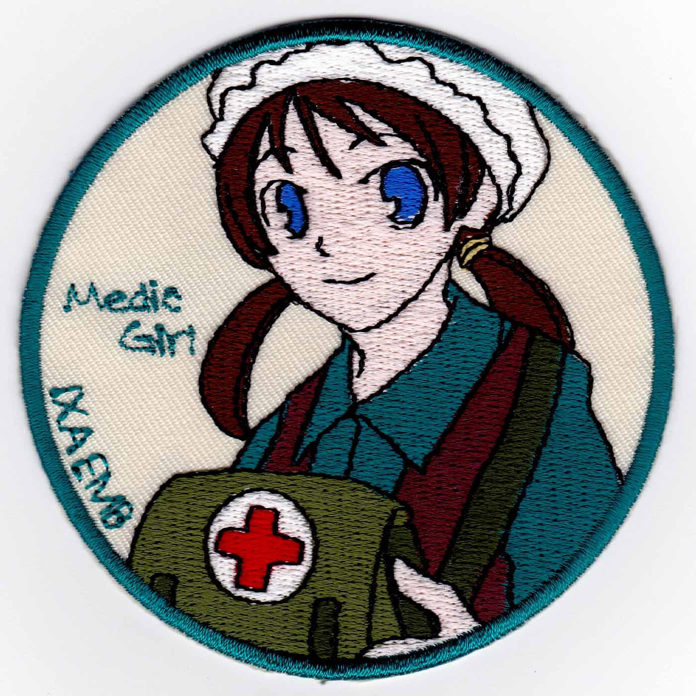 Medic Girl 医療鞄 パッチ