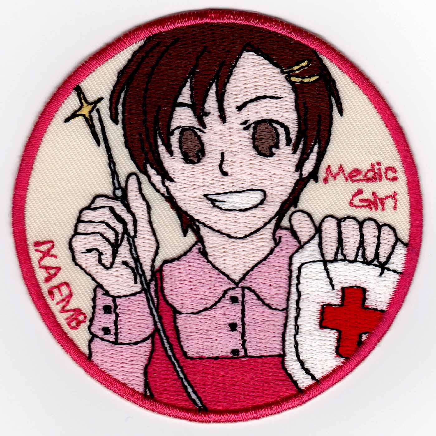 Medic Girl 点滴 パッチ