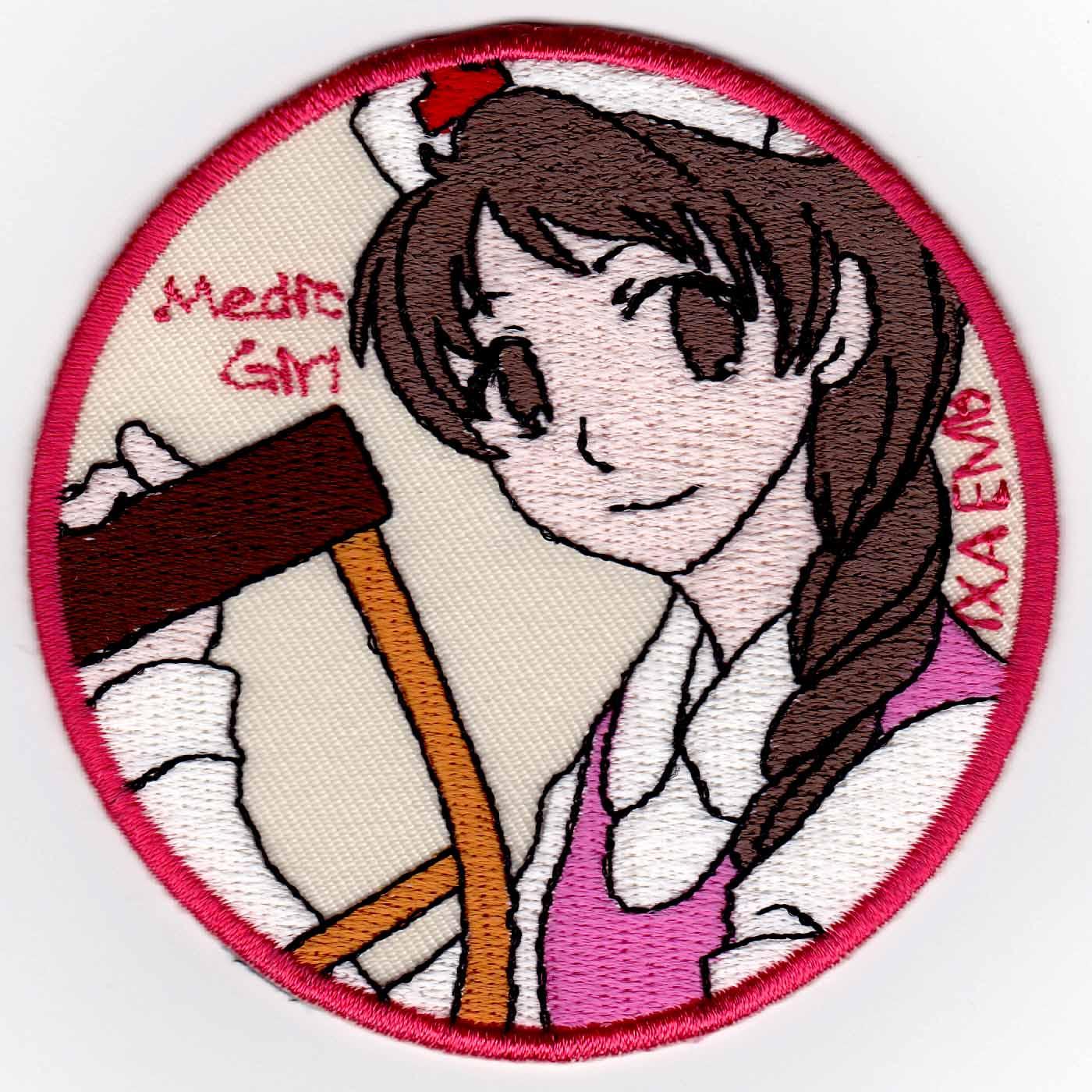 Medic Girl 松葉杖 パッチ