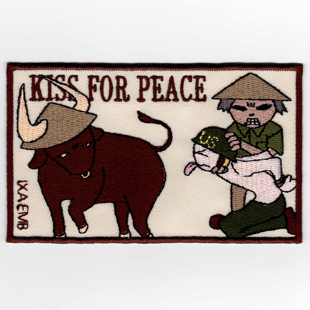 KISS FOR PEACE パッチ
