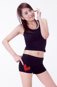 仁科仁美+ボクサーパンツ