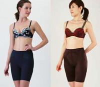 歩くことでおなかを引き締める効果が期待できる女性用下着「おなかウォーカー」を新発売!