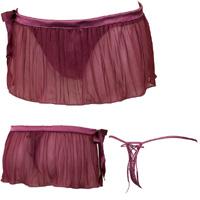 トリンプWEB限定desir スカート付ストリング[商品名]EC013 String