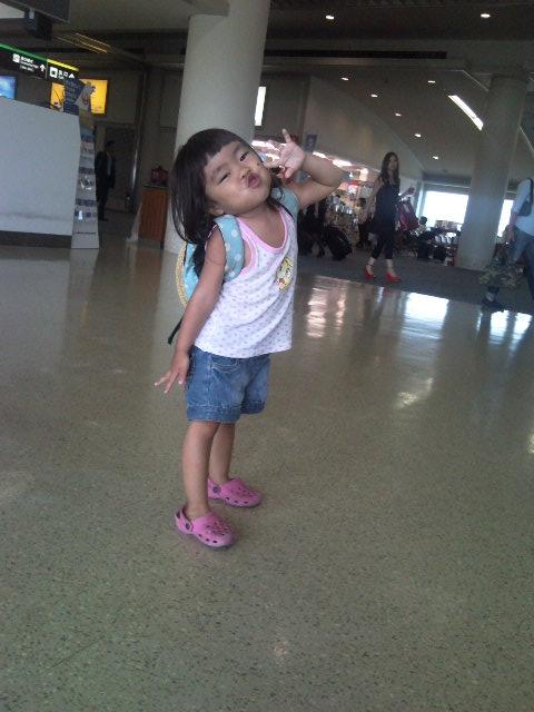 娘@那覇空港