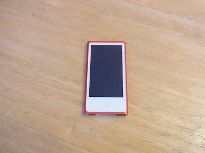 赤坂のお客様 iPod nano7修理受け付け