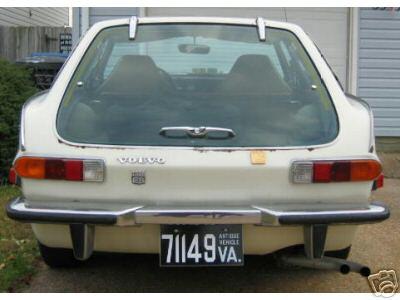 VOLVO P1800ES rear