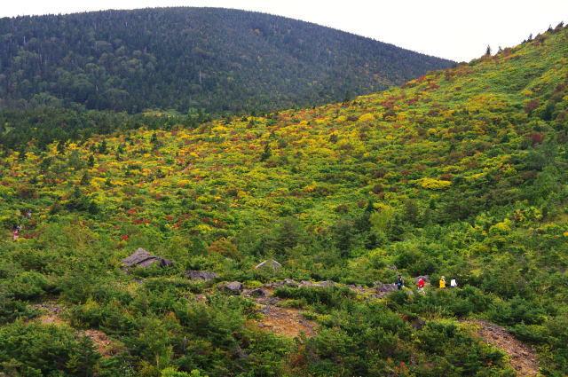 東吾妻山と蓬莱山