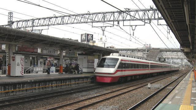 春日部駅にて