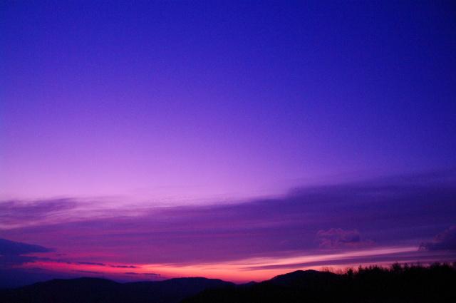 吾妻山麓黎明