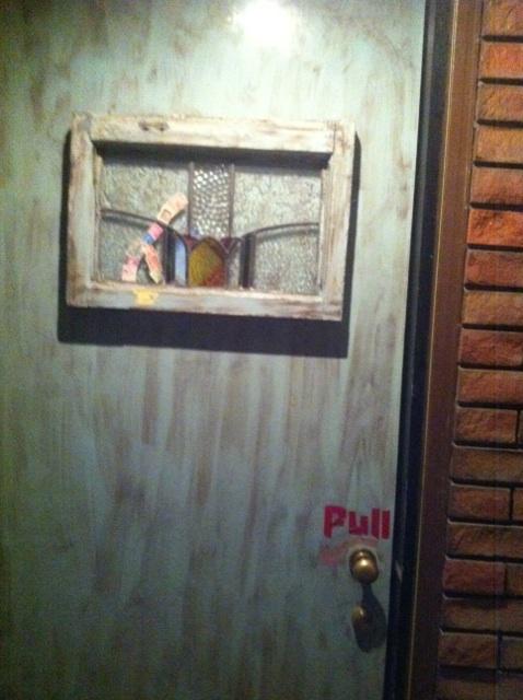 熟成室ドア