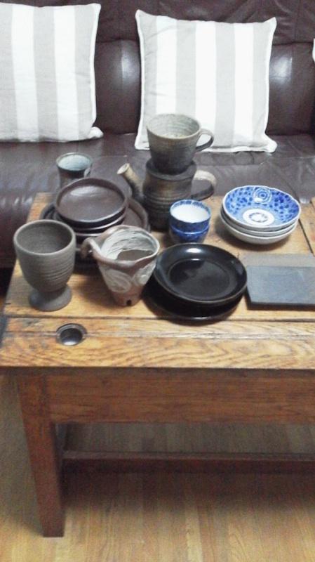 実松さんの食器