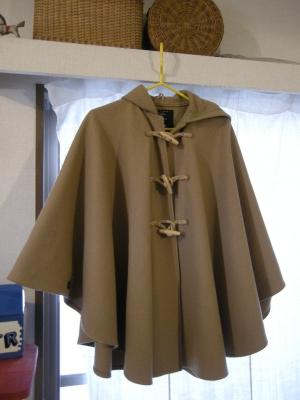 石川さんのマントコート