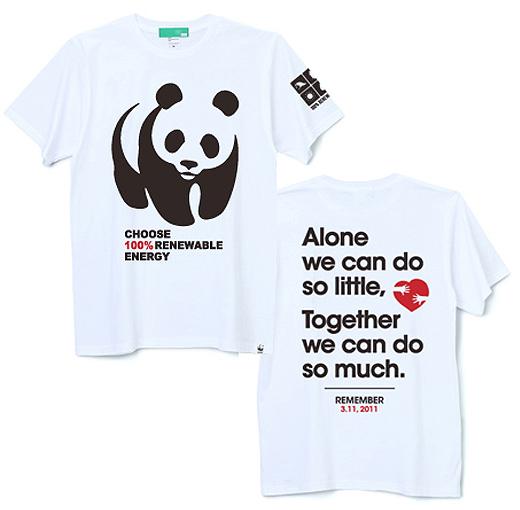 WWFチャリティT