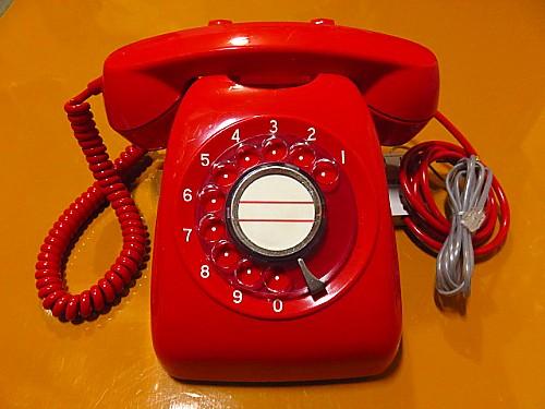 赤電話電電公社公衆電話600型