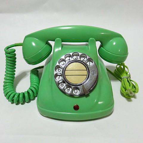 柊花堂しゅうかどう4号機わかくさ極美品富士通昔の電話機