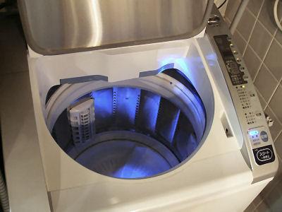 洗濯機ライト