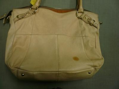 バッグのシミ1