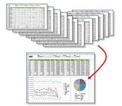 1年間の家計簿を集計しよう
