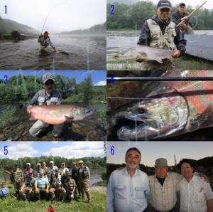 極東ロシア・トゥムニン釣行第二陣