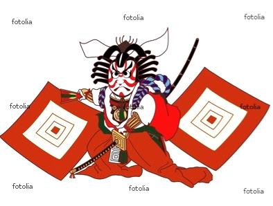 歌舞伎ー暫のキャラクター