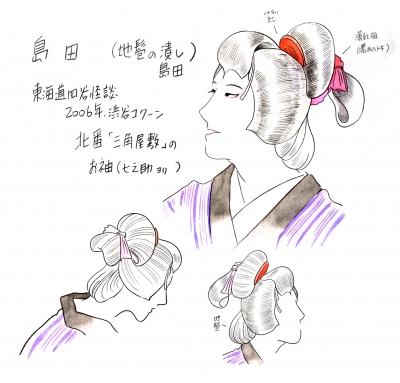 島田のイラスト