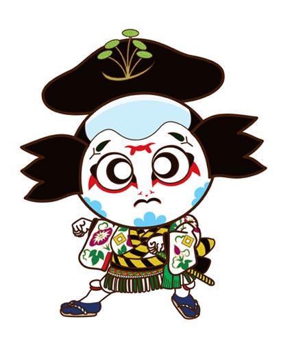 朝顔仙平 助六 歌舞伎