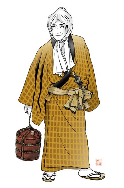 歌舞伎 女殺油地獄 与兵衛