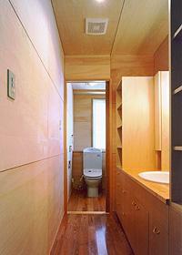 トイレと洗面台