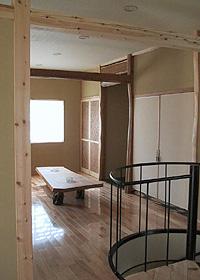 K HOUSE 2階リビング