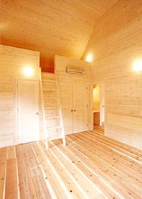 ベスパの家寝室