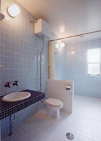 ベスパの家浴室