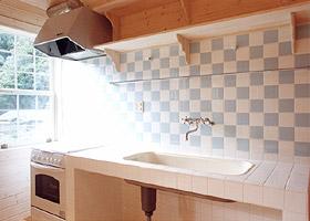 ベスパの家キッチン