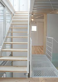 丹那の家2階階段周辺