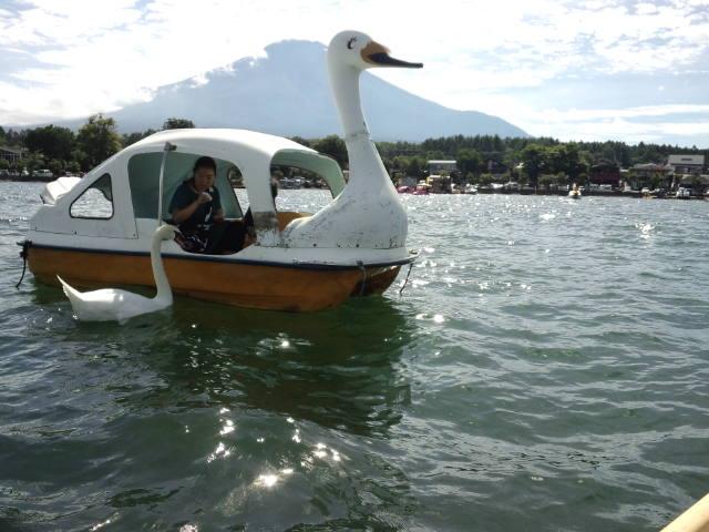 山中湖 ボート