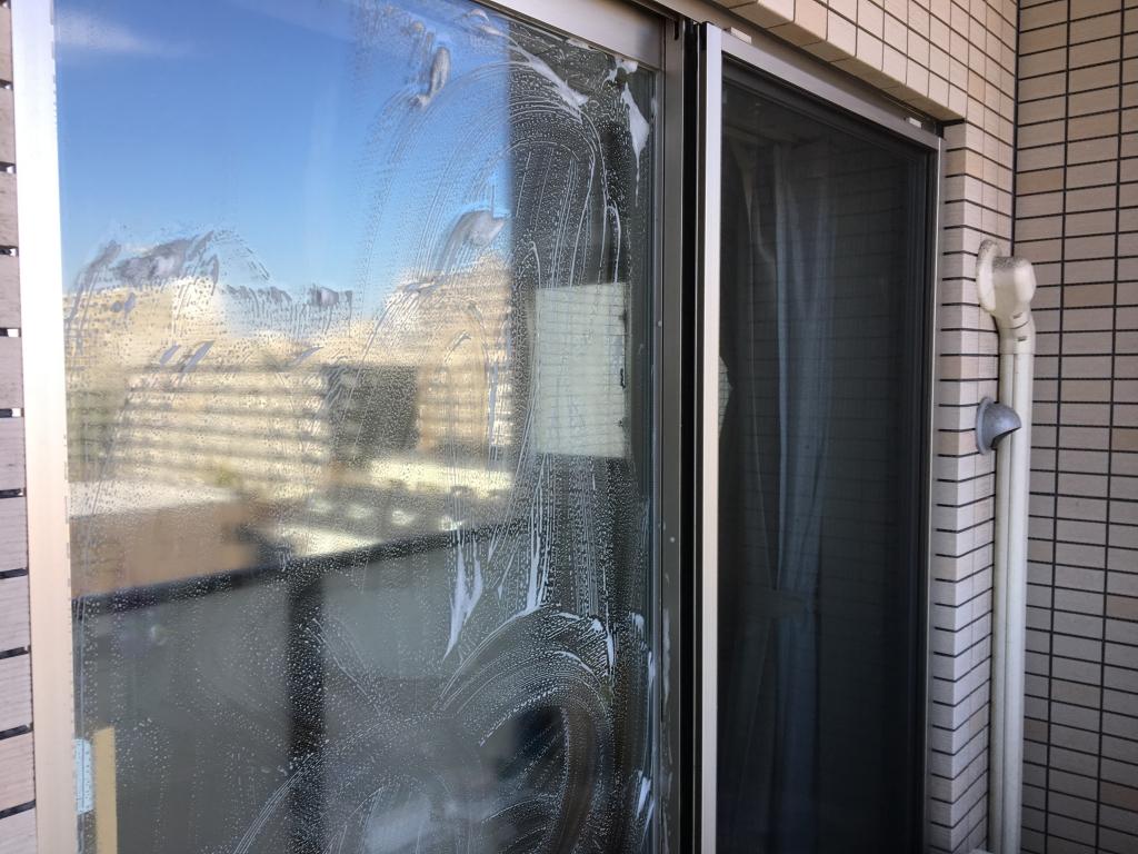 窓、網戸清掃