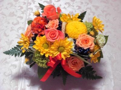 お花も頂きました