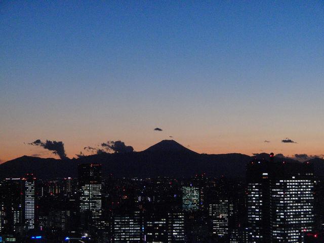 48階からの富士山