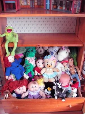 ぬいぐるみ&お人形達