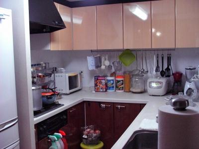 キッチン完了