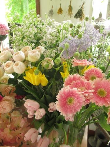 卒業式 お花