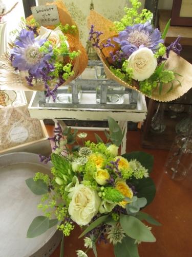 ミニブーケ 花屋