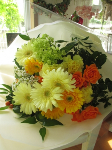 ガーベラ花束