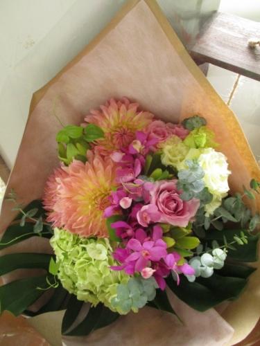 リゾート花束