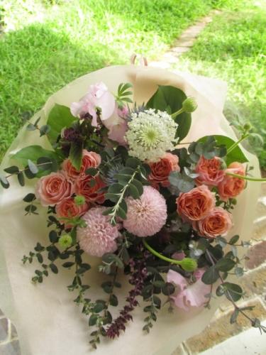 花束 成人のお祝い