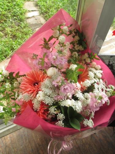生年祝い 花束