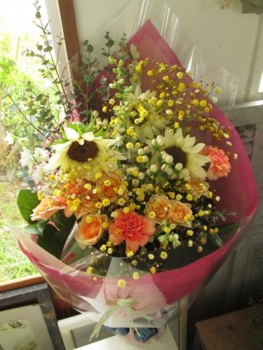 生年祝い花束
