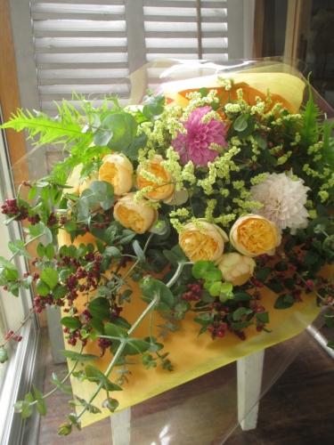 退職のお祝い花束