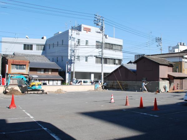 工事駐車場